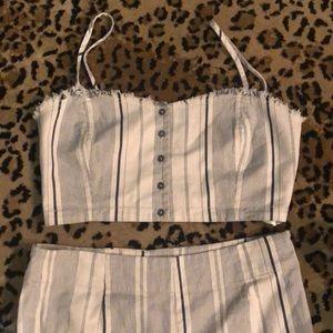 Two Piece Linen Set